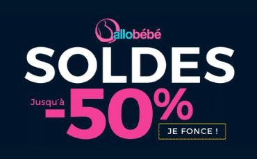 Enjoy family vous présente les soldes sur Allobébés : c'est jusqu'à -50% !